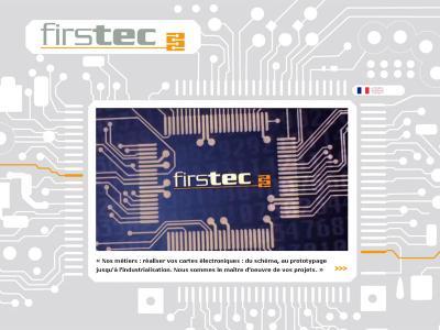 Réalisation du site internet de Firstec