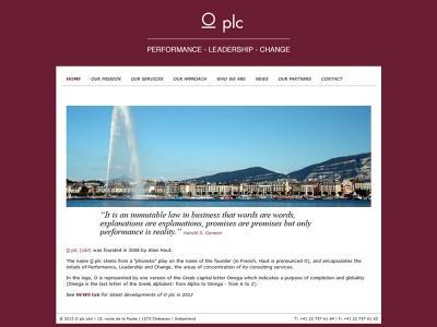 Réalisation du site internet d'OPLC